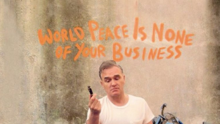 """World Peace Is None of Your Business"", lo nuevo de Morrissey"