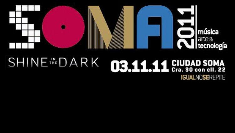 Soma 2011 va con toda para el 3 de noviembre