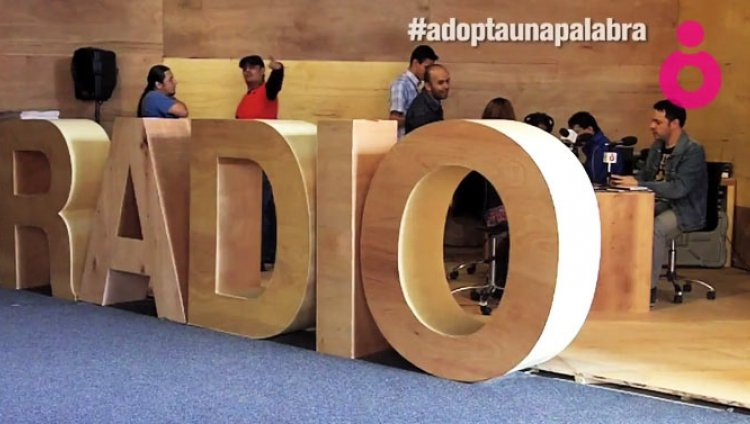 #adoptaunapalabra en la Feria Internacional del Libro de Bogotá