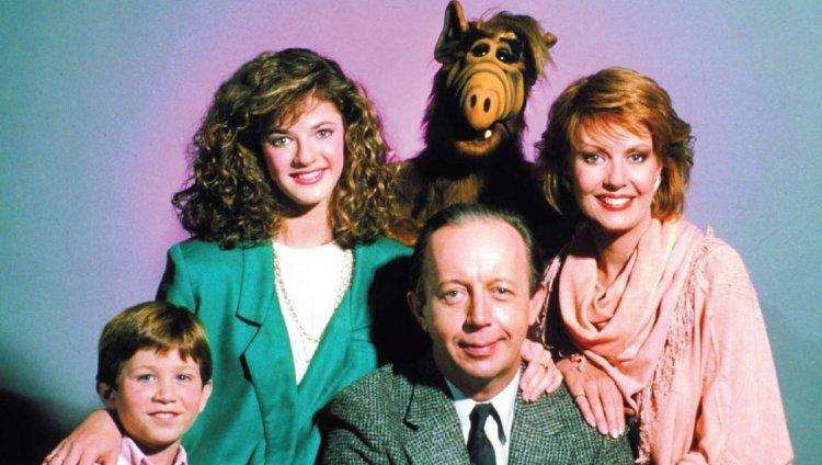 La familia Tanner y Alf