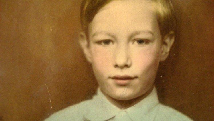 Andy Warhol de niño