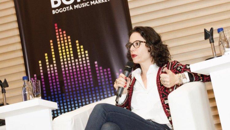 Catalina Ceballos. Subgerente de radio RTVC. BOmm 2015.