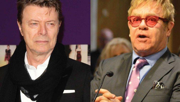 David Bowie y Elton John