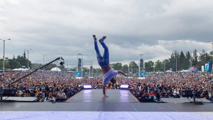 Imagen tomada de Facebook: Festival Hip Hop al Parque