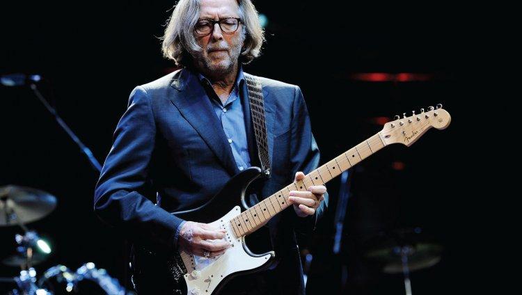 Eric Patrick Clapton, guitarrista, cantante y compositor de rock y blues británico.