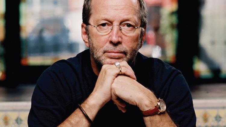 Eric Clapton de 71 años.