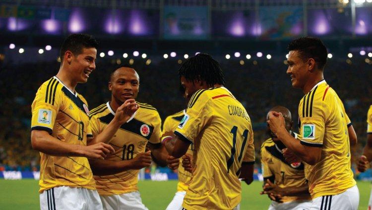 Selección Colombia mundial Brasil 2014.