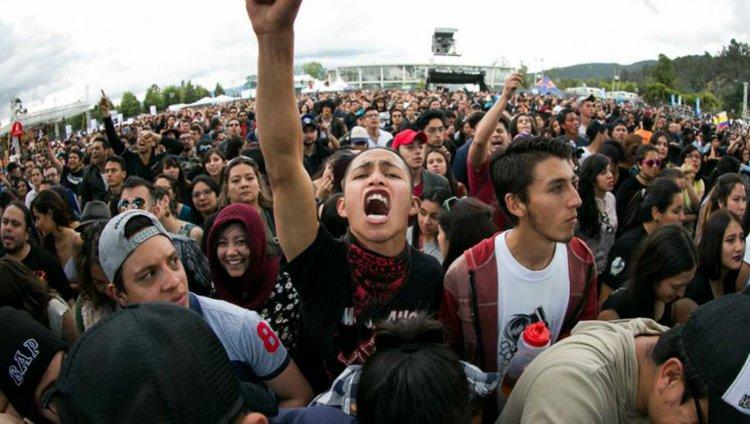 Foto por David Micolta para Cosquín Rock Colombia.