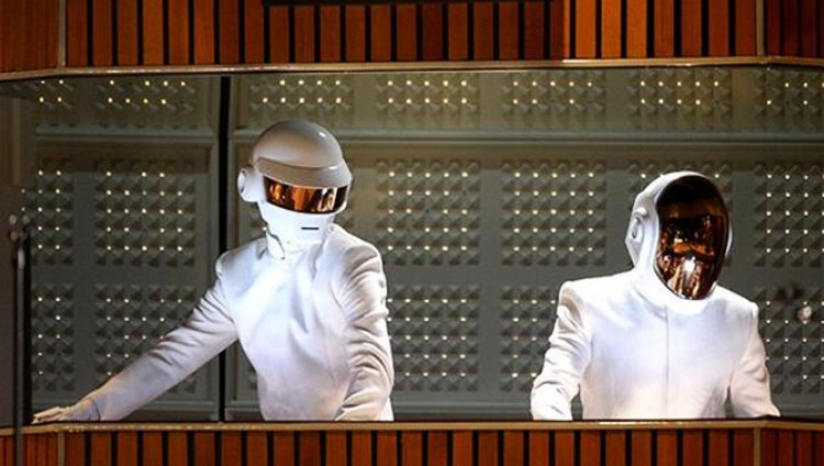 La presentación de Daft Punk en los Grammy