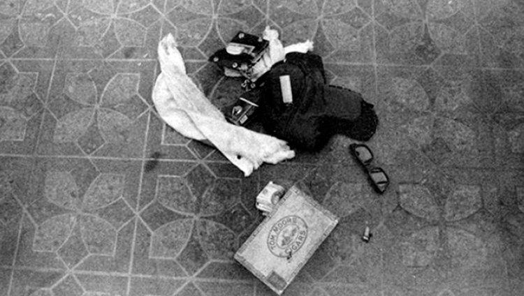 Revelan fotografías inéditas de la escena de la muerte de Kurt Cobain