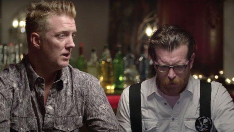 Josh Homme y Jesse Hughes, fundadores de Eagles Of Death Metal.