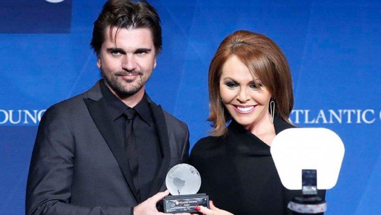 Juanes fue galardonado con el premio Liderazgo Humanitario