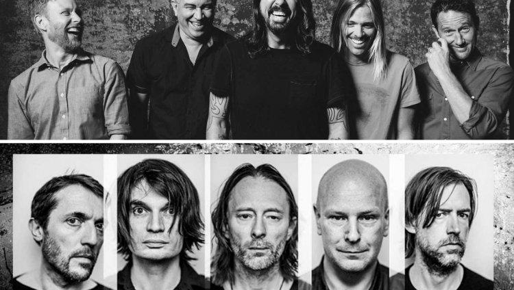 Radiohead vs Foo Fighters