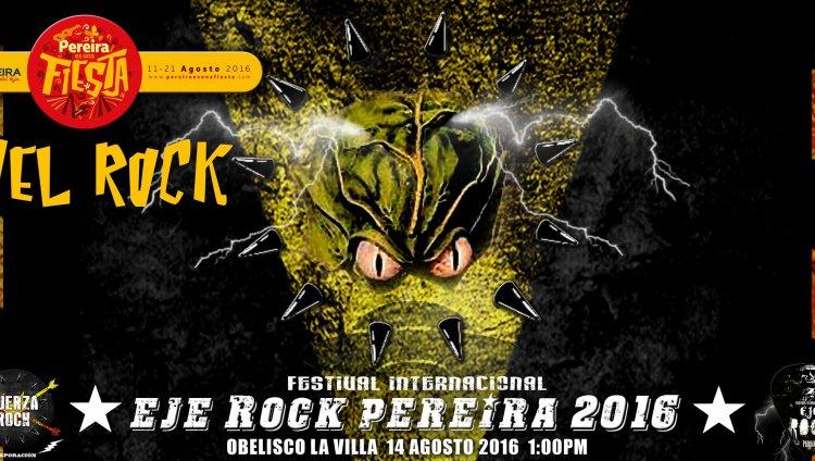 Eje Rock, la nueva fiesta musical en Pereira