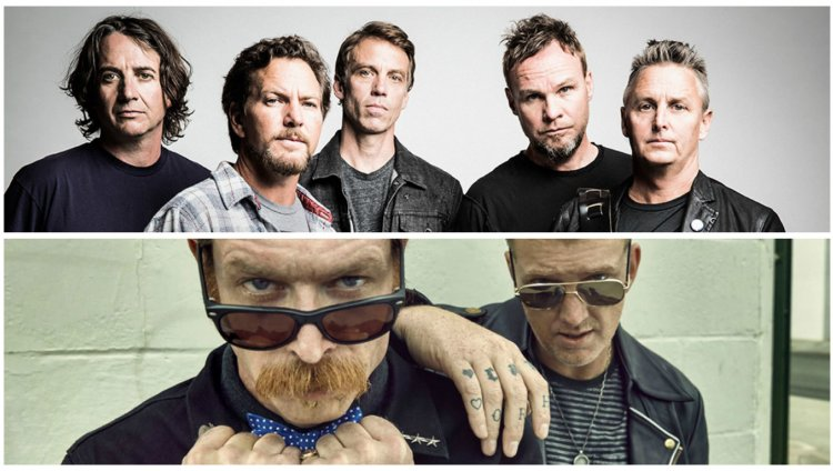Pearl Jam versiona a Eagles of Death Metal en Brasil