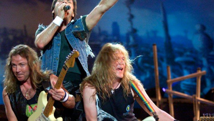 Iron Maiden lanza su nuevo disco en septiembre