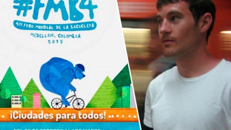 """""""La ciclovía ha sido un ejemplo para Norteamérica"""": Mike Lydon desde el 4to Foro Mundial de la Bicicleta"""