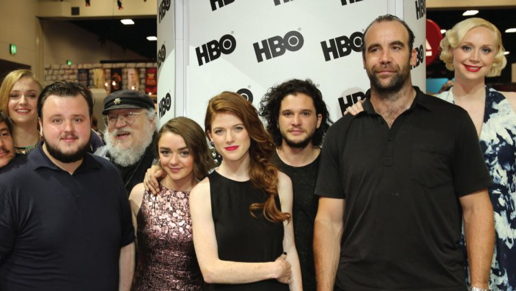 Casting de Game Of Thrones. Foto tomada del Huffington Post.