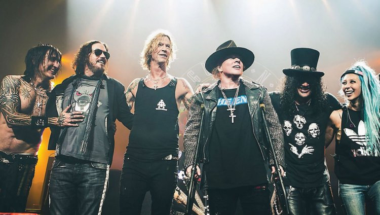 "Guns 'N' Roses en su gira ""Not In This Lifetime"" 2016."