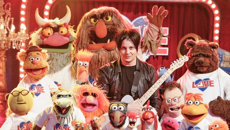 Jack White se suma a la lista de estrellas de rock que han pasado por el programa como Alice Cooper, Dave Grohl y Ozzy Osbourne.