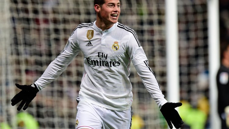 James Rodríguez. Foto tomada de www.independent.co.uk