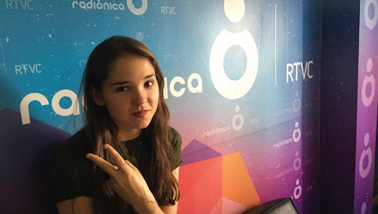 Juanita Carvajal (bajista de Esteman) en Entrevistas Radiónica