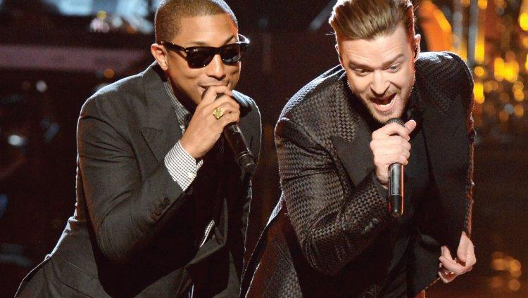 Justin Timberlake prepara música con Pharrell o viceversa