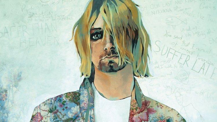 Kurt Cobain tendrá su propia novela gráfica