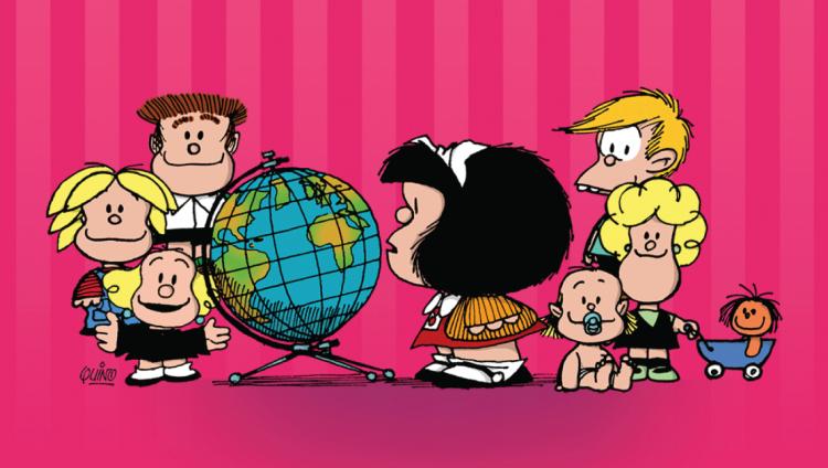 ¡Felices 52 años Mafalda!