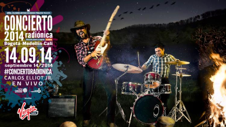 Carlos Elliot Jr: el color del blues llega al #ConciertoRadiónica Medellín