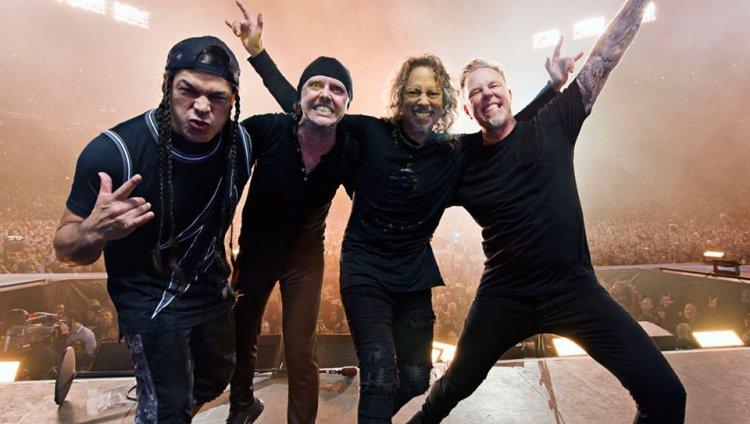 Lars Ulrich y James Hetfield fundaron Metallica en 1981 en Los Ángeles