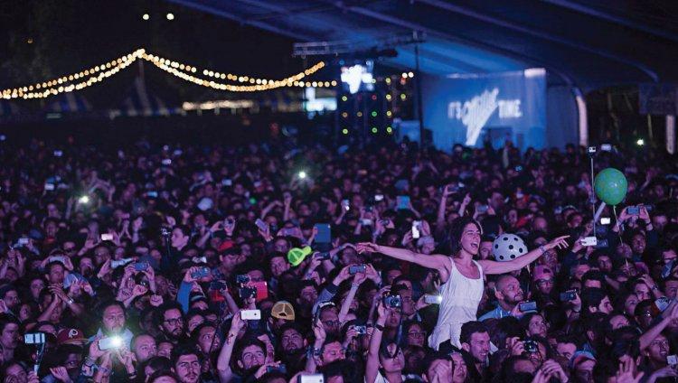 Estéreo Picnic. Foto de Camilo Rozo tomada de Semana.com