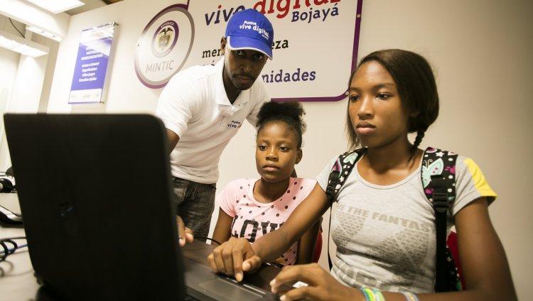 Internet de alta velocidad llega al municipio de Bojayá