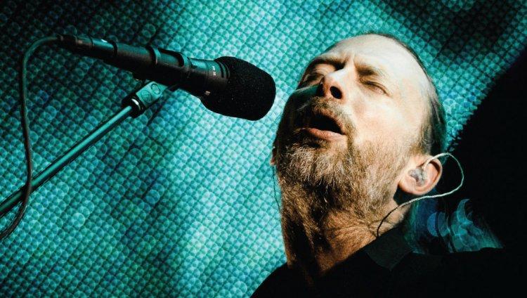 Thom Yorke. Foto tomada de Indiespace.com.mx
