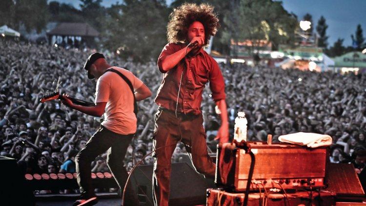 RATM en concierto. Foto: Christie Goodwin.