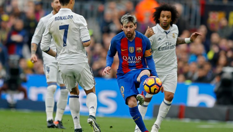 Real Madrid vs Barcelona, Liga de España. FOTO: AP.