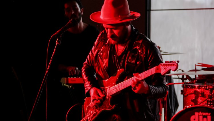 Mauricio Colmenares en vivo en  Hard Rock Café