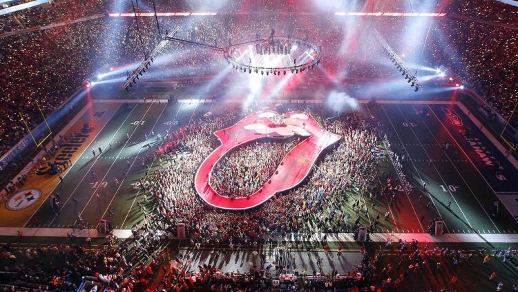 Rolling Stones en el Ford Field en Detroit, Michigan