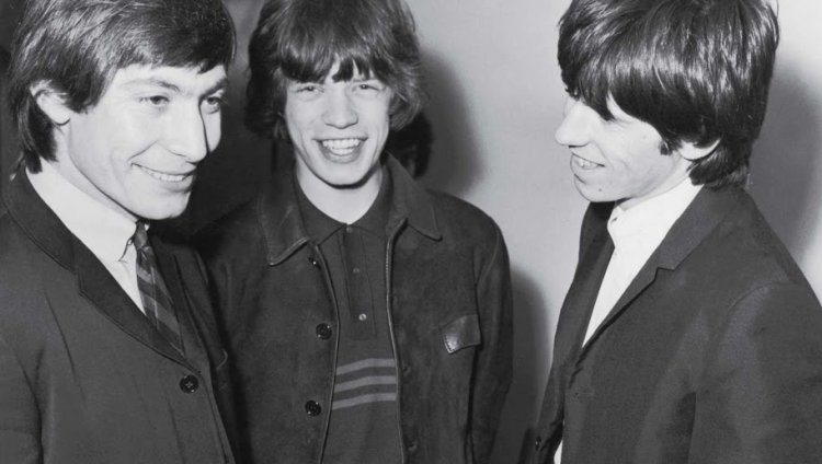 Charlie Watts, Mick Jagger y Keith Richards en 1965