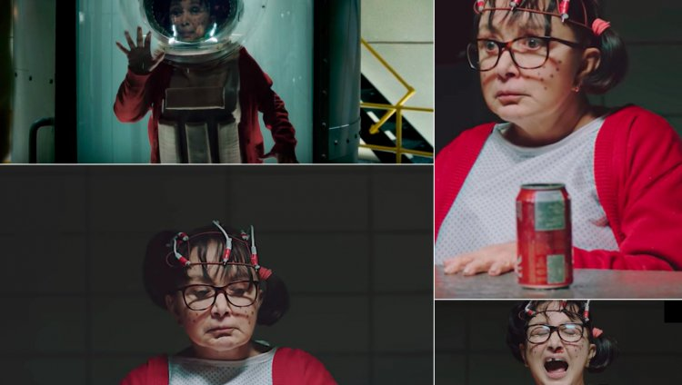 La Chilindrina en el video promocional de 'Stranger Things 2'