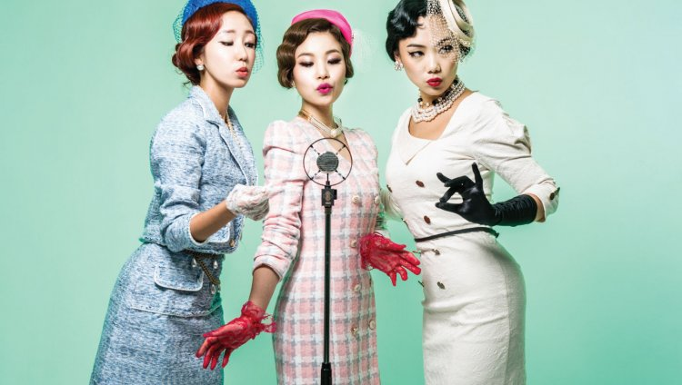 The Barberettes de Corea del Sur.