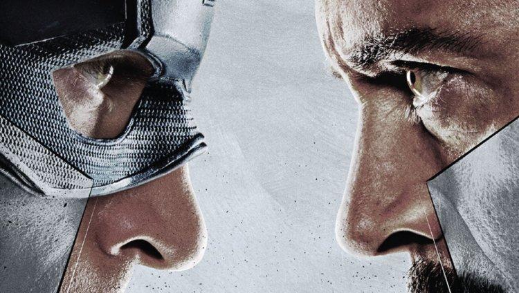 Chris Evans y Robert Downey Jr., protagonistas de 'Captain America: Civil War'.