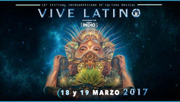 Cinco bandas nacionales en el Vive Latino 2017
