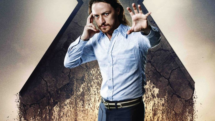 Así se rapó James McAvoy para X-Men Apocalipsis