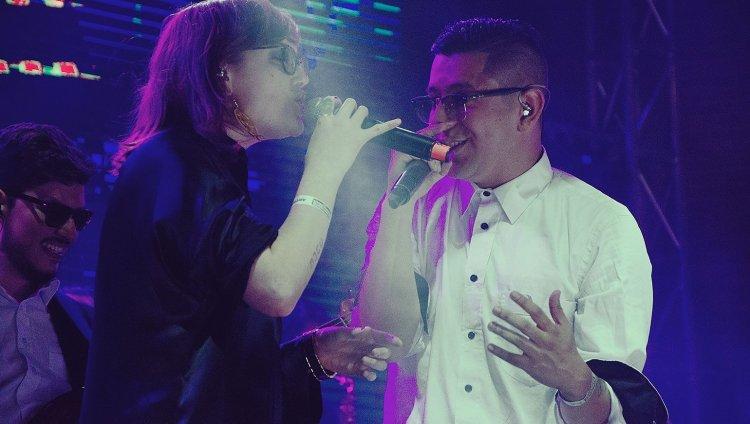 Nicolai Fella y Denise Gutiérrez en el Concierto Radiónica 2015