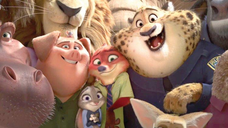 Zootopia es la película número 55 de la serie animada de Disney en toda su historia.