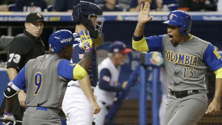 Colombia 'la sacó del parque' en el Clásico Mundial de Béisbol