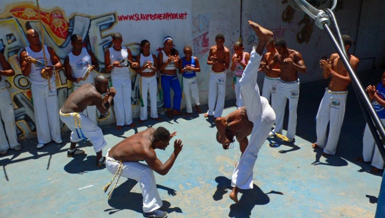 Capoeria, un arte marcial de reconciliación