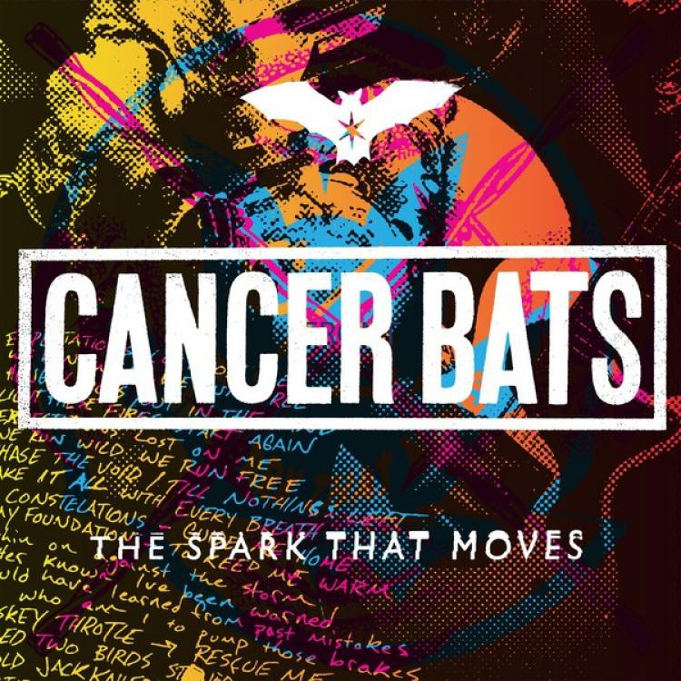 No. 13 'The Spark That Moves' de Cancer Bats (New Damage)