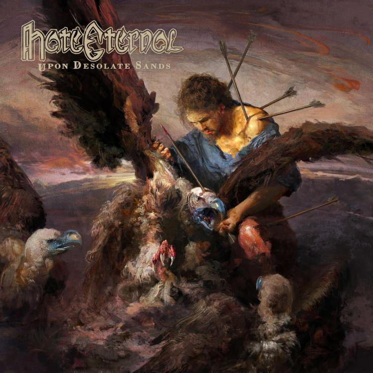 No. 14 'Upon Desolate Sands' de Hate Eternal (Season Of Mist)